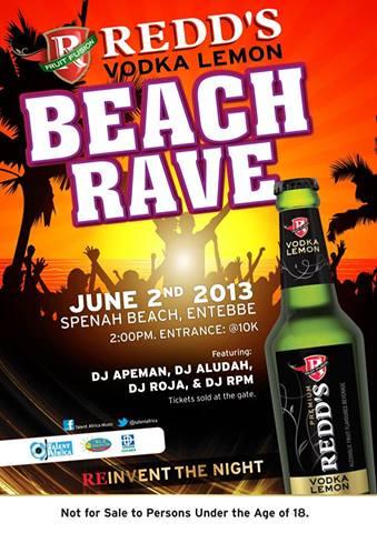 RVL beach rave